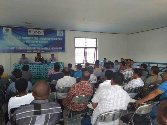 Pelabuhan Perikanan Sorong Gelar Sertifikasi Kompetensi PKP