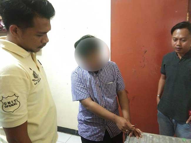 Polisi Ringkus Pencuri Uang Kotak Amal Masjid