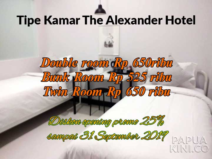 The Alexander Hotel Ramaikan Hospitality Business Manokwari