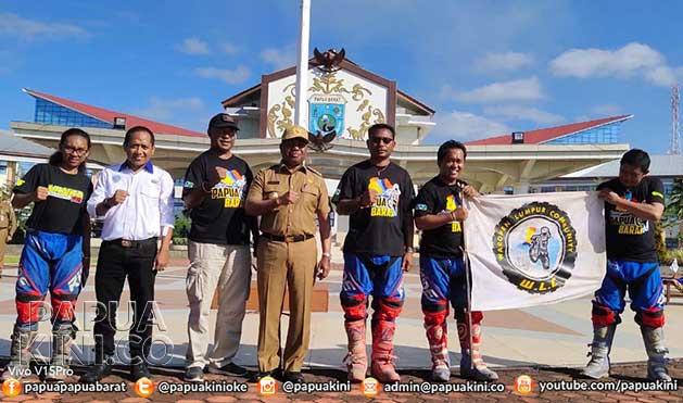 Gubernur Papua Barat Salut Waropen Lumpur Community Tembus Manokwari