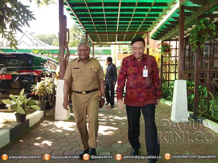 Bertemu Gubernur, Pimwil BNI Papua-Papua Barat Bilang Tak Ada Agenda Khusus