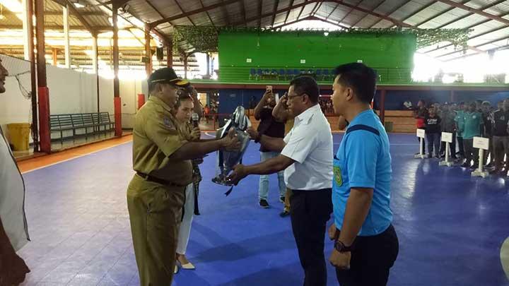 Buka Kejurda, Gubernur Ingin Futsal Papua Barat Tembus PON