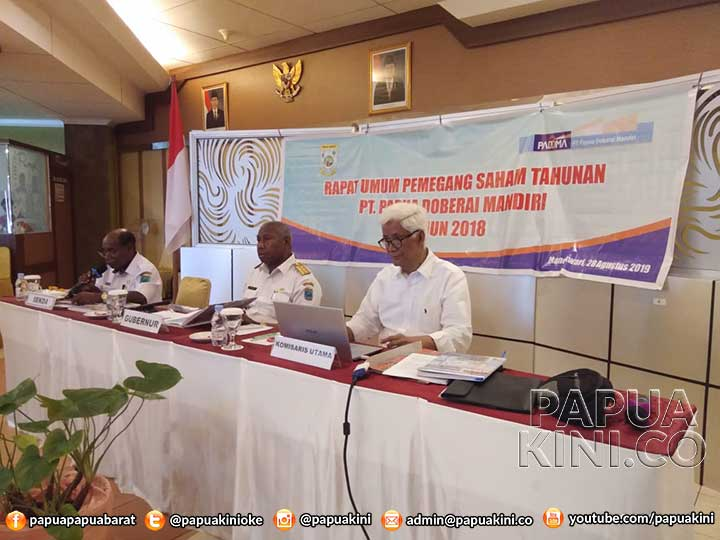Gubernur Ingatkan Padoma Doberai Mandiri Harus Untung