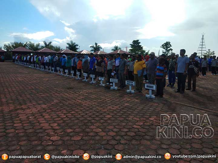 Pengukuhan Paskibra Papua Barat di Gedung DPR bukan di Unipa