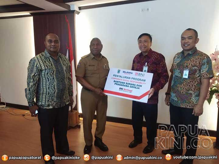 BNI Bantu Gereja di Papua Barat
