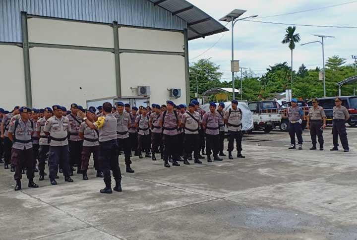 900 BKO Brimob, Kapolda Papua Barat Pertebal Pengamanan Pasca Rusuh Manokwari