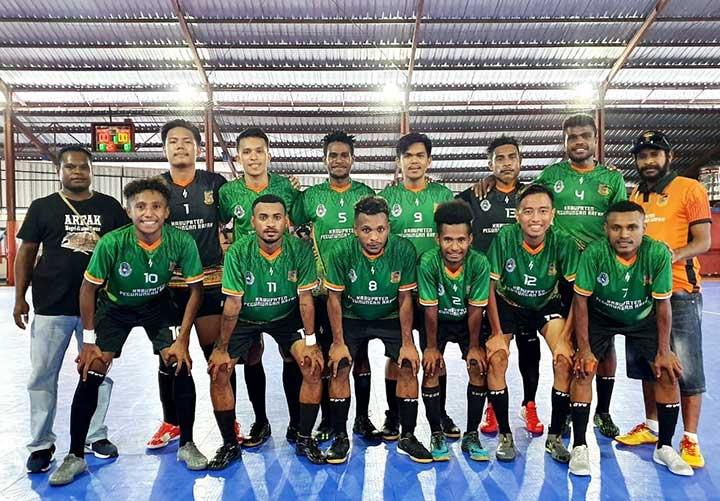 Kaki Seribu Arfak Tembus Semi Final Kejurda Futsal