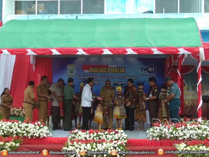 TVRI Papua Barat Siaran Percobaan, Jadi Stasiun ke 30 di Indonesia