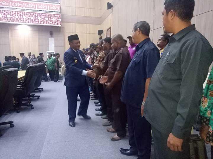 Pendapatan RAPBDP 2019 Teluk Bintuni Naik 4,05 Persen