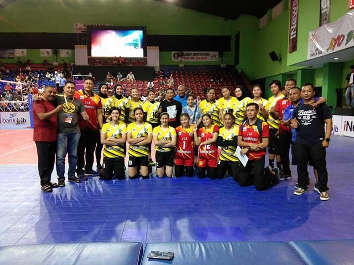 Tim Voli Putra-Putri Papua Barat Tembus PON XX