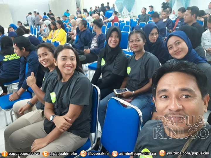 Pra PON Tenis Bergulir, Papua Barat Satu Pool Maluku dan Riau