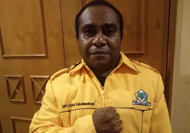 Adrianus Mansim Minta Keberpihakan Golkar ke OAP Soal Pimpinan DPRD Manokwari