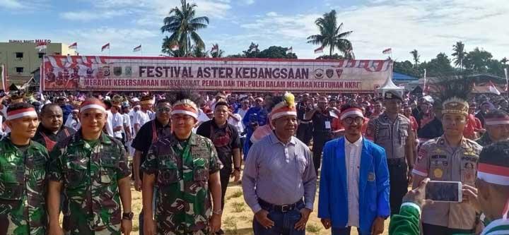 Rajut Kebersamaan Dengan Festival Aster Kebangsaan