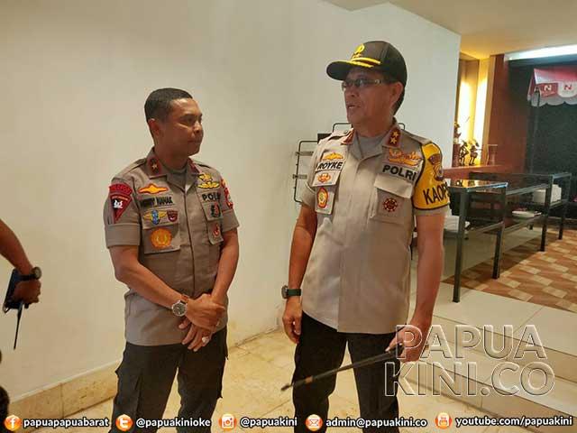 Cek BKO Brimob, Kapolda Maluku Ke Manokwari