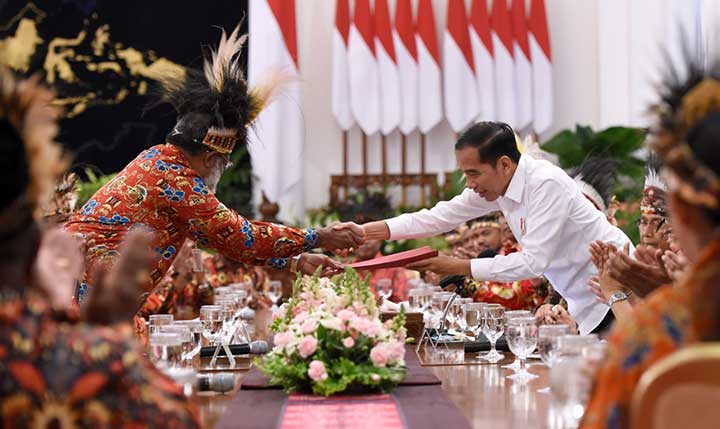 Presiden Jokowi Kaji Usulan Pemekaran Wilayah Papua dan Papua Barat