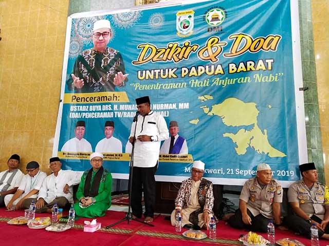 Penentraman Hati Anjuran Nabi, Dzikir dan Doa Untuk Papua Barat