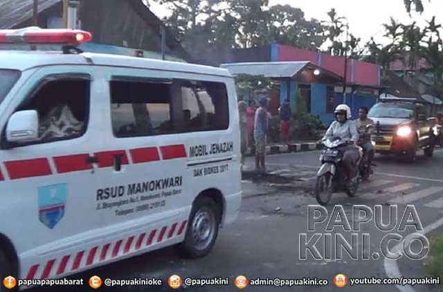 Pengendara Motor Meninggal Kecelakaan Dengan Mobil Polisi