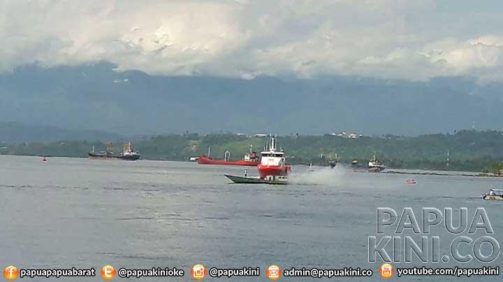 Kapal Terbakar di Perairan Manokwari, 3 Tewas