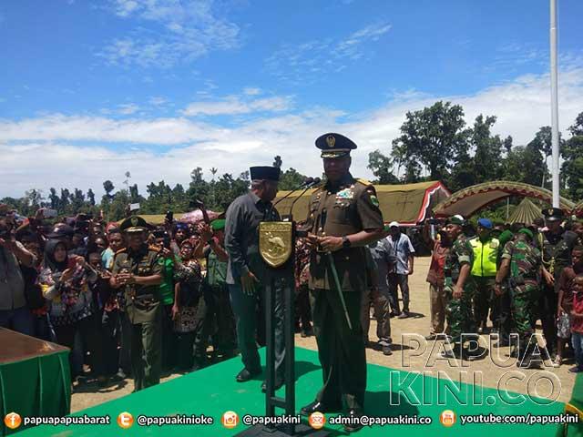 Kodam XVIII Kasuari Ketambahan 319 Prajurit, 80 Persen Putra Asli Papua