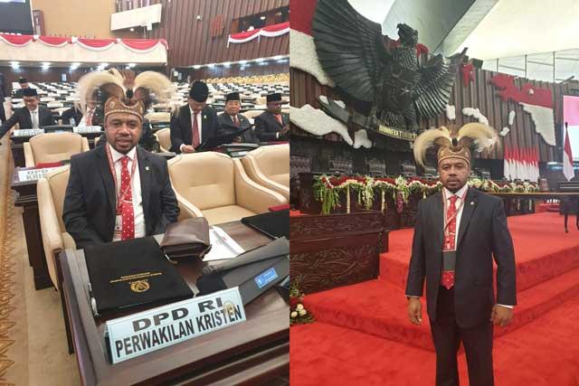 Filep Wamafma, Harapan Baru Dari DPD RI Asal Papua Barat