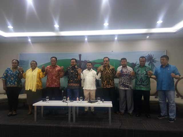 Badan Komunikasi Anggota DPR/DPD Papua-Papua Barat Terbentuk
