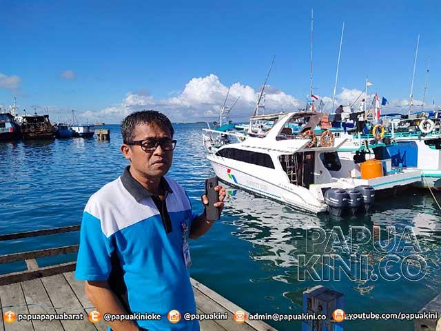 Pelabuhan Perikanan Sorong Usul Pelebaran Dermaga