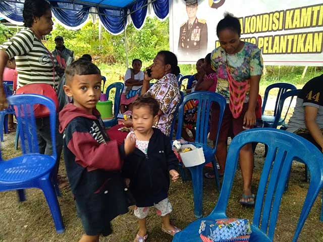 Giliran Warga Arowi Dapat Pengobatan Gratis Polda Papua Barat