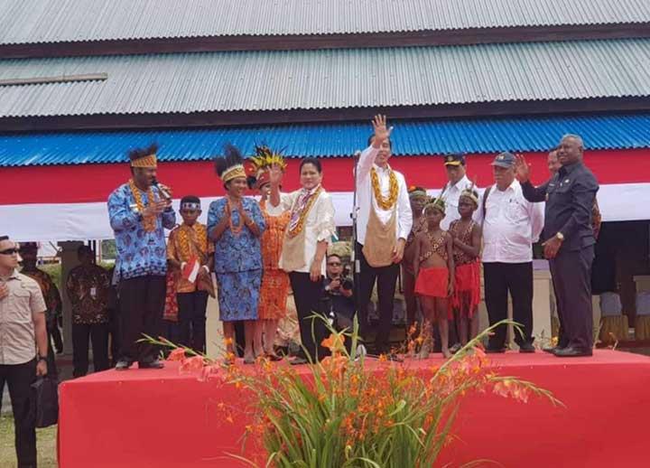 Jokowi Presiden Pertama Indonesia yang ke Pegunungan Arfak