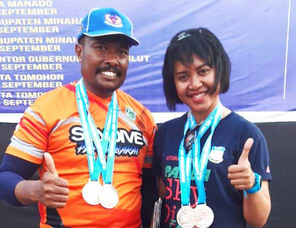 Dua Penerjun Payung Tanah Papua Ini Gemilang Raih Emas