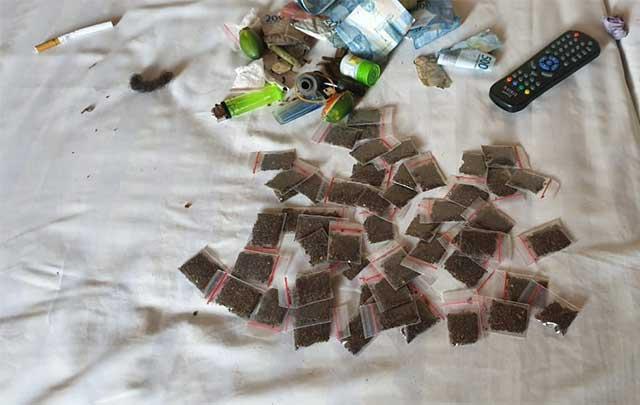Polisi Ciduk Pengedar Ganja di Sebuah Hotel di Manokwari