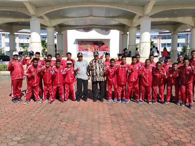 Tim Gala Siswa Indonesia Papua Barat Berharap Minimal 8 Besar