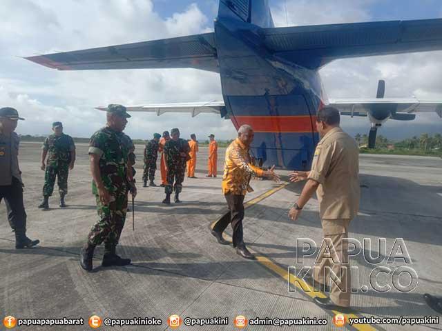 Jelang Kunjungan Presiden, Gubernur, Pangdam, Wakapolda Tinjau Kaimana