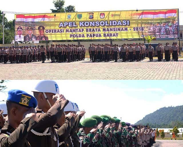 Mantap Brata Mansinam Papua Barat Sukses