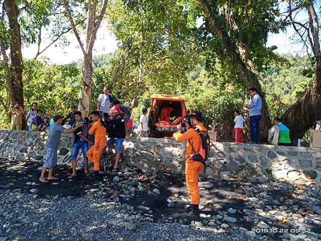 Seorang Wanita Dilaporkan Hilang di Pantai Maruni