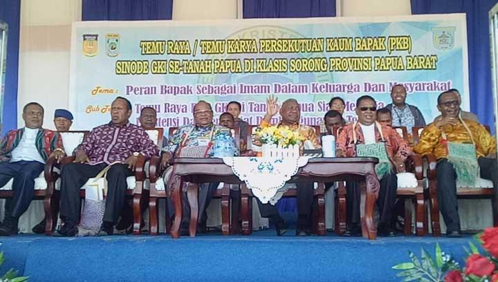 Buka Temu Raya PKB GKI se Tanah Papua, Gubernur Papua Barat Ingatkan Kedamaian