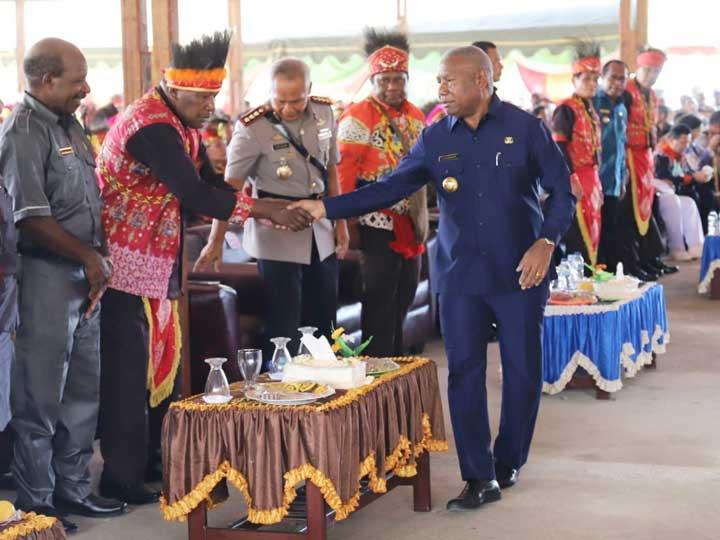HUT VII Mansel, Gubernur Ingatkan Penggunaan Dana Desa