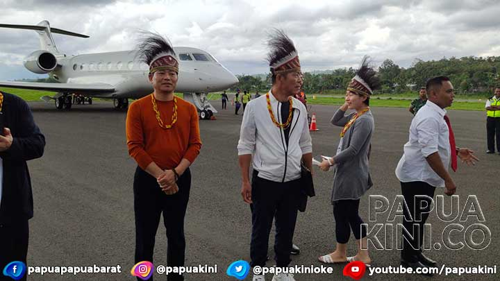 Minat Investasi di Papua Barat, Investor China ke Manokwari Pakai Jet Pribadi dari Hong Kong