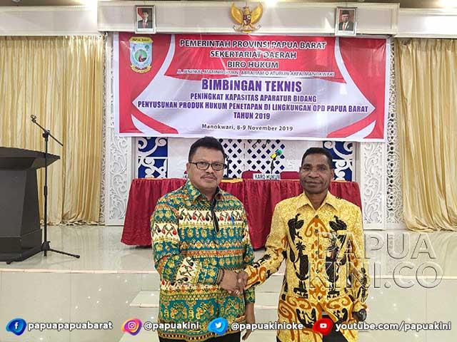 Kemendagri Perluas Wawasan Penyusunan Produk Hukum OPD Papua Barat
