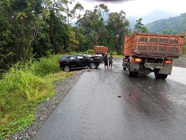 Gubernur Doakan Kesembuhan Bupati dan First Lady Mansel Pasca Kecelakaan