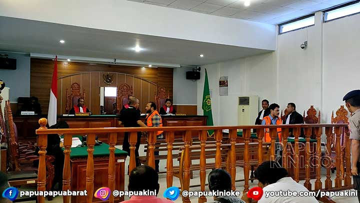 PH Terdakwa Pembakar Bendera Indonesia Ajukan Eksepsi