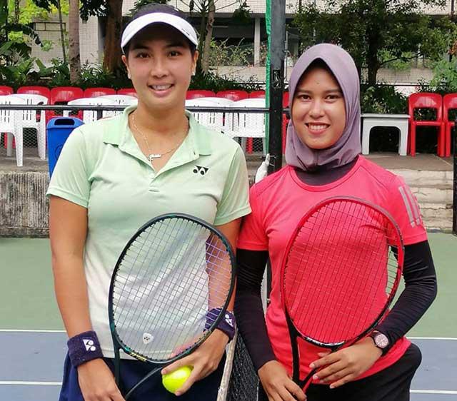 Tenis Papua Barat Tembus Semi Final BNI Open 2019