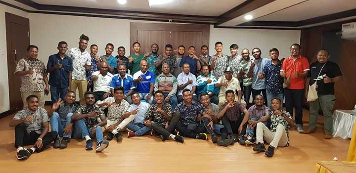 Tim Sepakbola Pra PON Papua Barat Siap Berlaga di Maluku