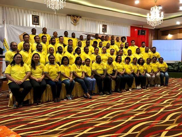 Kadis PU Papua Barat Didaulat Jadi Ketua Ikatan Alumni USTJ Papua Barat
