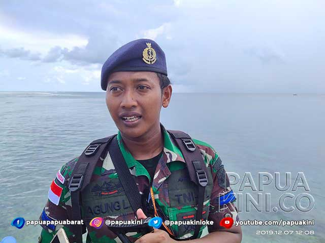 Agung Landung Santosa Bangga Jadi Prajurit Penjaga Perbatasan NKRI di Papua Barat