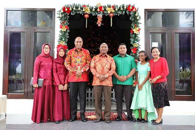 Open House Gubernur Papua Barat dan Bupati Manokwari