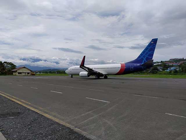 Sriwijaya Terbang Lagi ke Jayapura dan Makassar