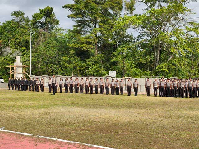 300 Personil Amankan Malam Tahun Baru di Manokwari