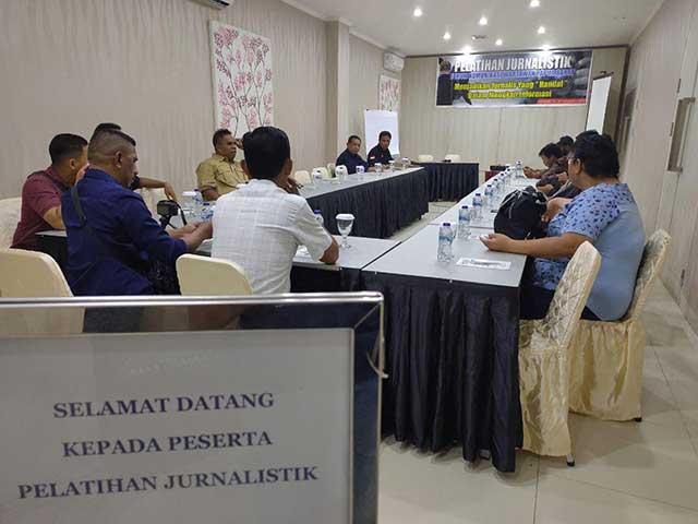 Fokus Warta Pelatihan Wartawan di Sorong
