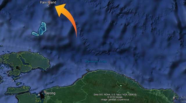 Gubernur Papua Barat Berlayar ke Pulau Fani, Perbatasan Indonesia-Palau
