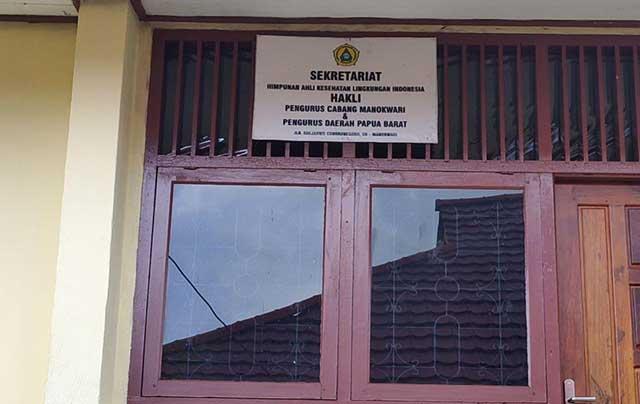 Bupati Manokwari 'Usir' HAKLI dari Kantor Dinkes